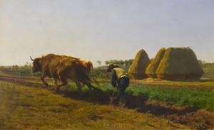 Art Prints of Ploughing Scene by Rosa Bonheur