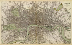 Art Prints of Great Britain, London, 1843 (0890184), Great Britain Map