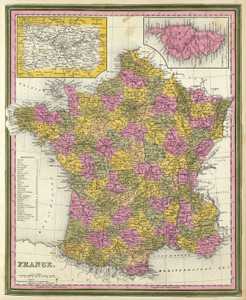Art Prints of France, 1846 (0537048) by Samuel Augustus Mitchell
