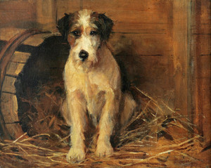 Art Prints of Portrait of a Dog by Samuel Fulton
