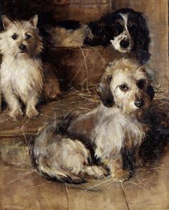 Art Prints of Old Friends by Samuel Fulton
