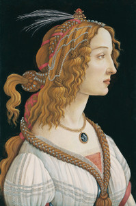 Art Prints of Portrait of Simonetta Vespucci as a Nymph by Sandro Botticelli