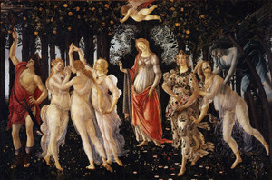 Art Prints of La Primavera or Spring by Sandro Botticelli
