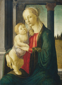 Art Prints of Madonna and Child by Sandro Botticelli