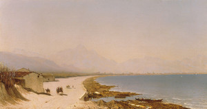 Art Prints of Near Palermo by Sanford Robinson Gifford