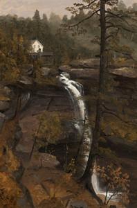 Art Prints of Kauterskill Falls by Sanford Robinson Gifford