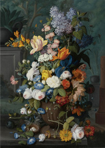 Art Prints of Flowers by Severin Roesen
