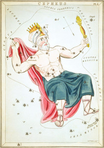 Art Prints of Cepheus, Plate 4, View of the Heavens by Sidney Hall