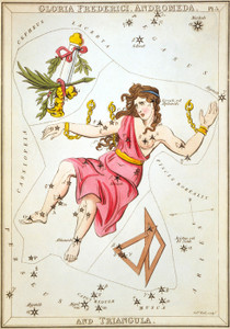Art Prints of Andromeda, Plate 5, View of the Heavens by Sidney Hall