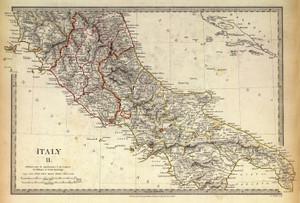Art Prints of Italy II, 1830 (0890040), Great Britain Map