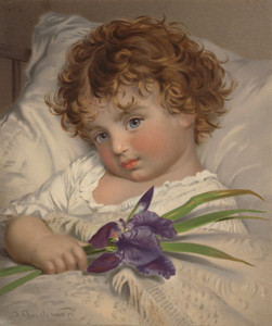 Art Prints of Prattling Primrose by Sophie Anderson