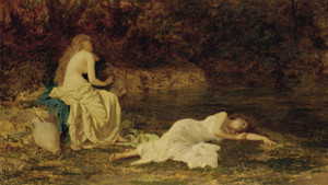 Art Prints of Dreaming by Sophie Anderson