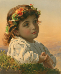 Art Prints of Dreaming Daisy by Sophie Anderson