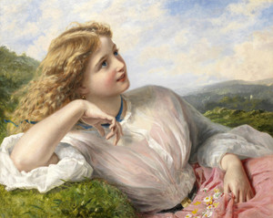 Art Prints of The Song of the Lark by Sophie Anderson