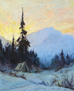 Art Prints of Camp on the Trail by Sydney Laurence