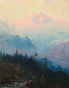 Art Prints of Mt. McKinley at Twilight by Sydney Laurence