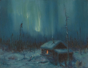 Art Prints of Northern Lights III by Sydney Laurence