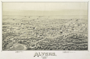 Art Prints of Alvord, Texas, 1890 by Thaddeus Mortimer Fowler