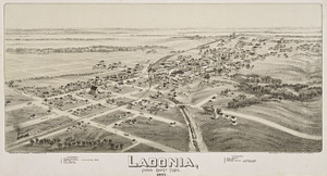 Art Prints of Ladonia, Texas, 1891 by Thaddeus Mortimer Fowler