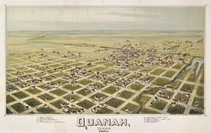 Art Prints of Quanah, Texas, 1890 by Thaddeus Mortimer Fowler