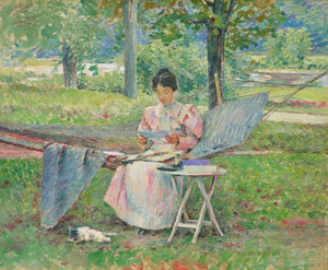 Art Prints of Correspondence by Theodore Robinson