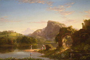 Art Prints of L'Allegro (the happy man in italian) by Thomas Cole