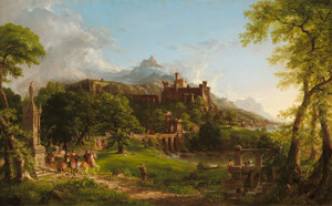 Art Prints of The Departure 1837 by Thomas Cole