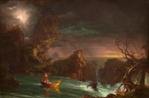 Art Prints of Voyage of Life, Manhood by Thomas Cole