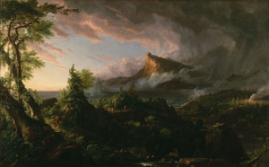 Art Prints of The Course of Empire, the Savage State, 1836, by Thomas Cole