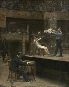 Art Prints of Between Rounds by Thomas Eakins