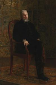 Art Prints of Robert C Ogden by Thomas Eakins