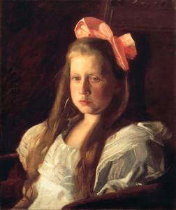 Art Prints of Portrait of Ruth W Harding by Thomas Eakins