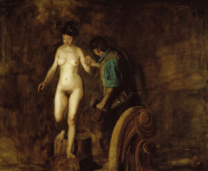 Art Prints of William Rush and His Model by Thomas Eakins