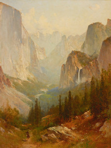 Art Prints of Yosemite by Thomas Hill