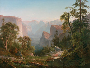 Art Prints of Yosemite Valley IV by Thomas Hill