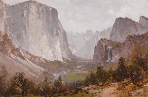 Art Prints of Yosemite Valley II by Thomas Hill