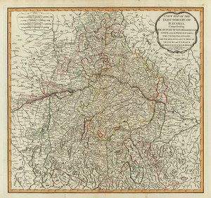 Art Prints of Bavaria, 1794 (2310043) by Thomas Kitchin, Laurie and Whittle