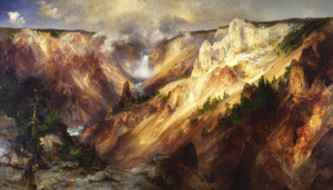 Art Prints of Grand Canyon of the Yellowstone by Thomas Moran