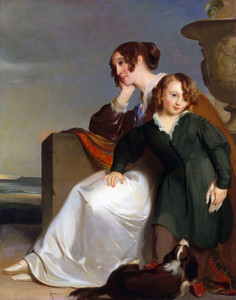 Art Prints of Mother and Son by Thomas Sully