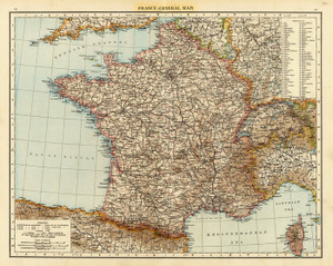 Art Prints of France, 1895 (1010016) by Times London and Richard Andree