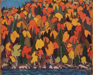 Art Prints of Autumn Foliage by Tom Thomson
