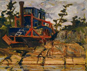 Art Prints of Alligator, Algonquin Park, Summer by Tom Thomson