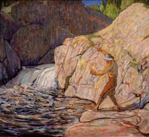 Art Prints of Fisherman, Winter by Tom Thomson