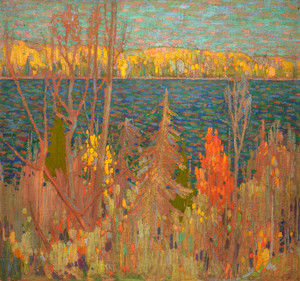 Art Prints of Golden Autumn by Tom Thomson