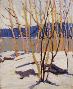 Art Prints of Sketch for Evening, Early Spring, 1916 by Tom Thomson