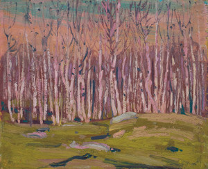 Art Prints of Silver Birches by Tom Thomson