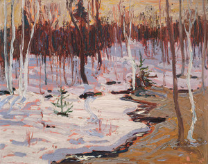 Art Prints of Spring Woods by Tom Thomson