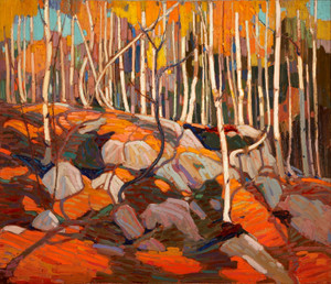 Art Prints of The Birch Grove, Autumn by Tom Thomson