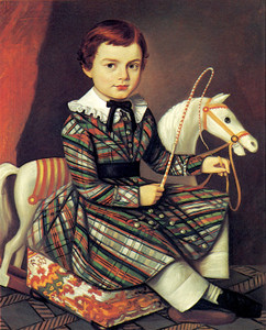 Art Prints of Boy in Plaid by an Unknown Artist