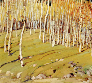Art Prints of Aspens by Victor Higgins